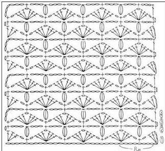 Diamond fans crochet tutorial step by step knitting bee diamond fans crochet tutorial diagram ccuart Choice Image