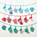 Festive Garland - Free Christmas Knitting Pattern