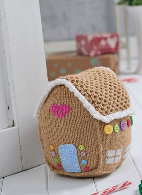 Gingerbread House Free Knitting Pattern Knitting Bee