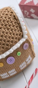 Gingerbread House - Free Knitting Pattern1