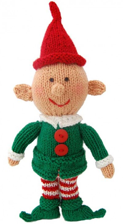 Happy Little Elf Free Christmas Knitting Pattern Knitting Bee