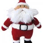 Hearty Holiday Santa - Free Knitting Pattern