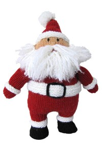 Hearty Holiday Santa free knitting pattern
