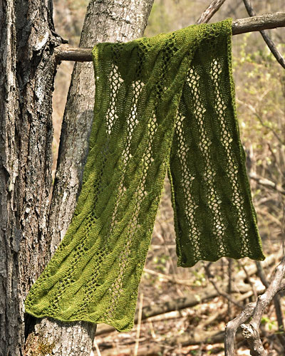 Jubilee Cabled And Lace Scarf Free Knitting Pattern Knitting Bee