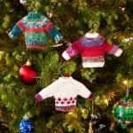 Noel Knit Sweater Ornaments