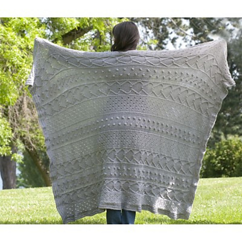 Free Free Cable And Bobble Blanket Knitting Pattern Patterns