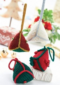Quick and Easy Free Christmas Decorations Knitting Pattern