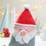Santa Cushion - Free Knitting Pattern