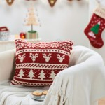 Scandi Christmas Cushion - Free Knitting Pattern