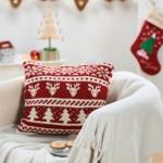 Scandi Christmas Cushion - Free Knitting Pattern