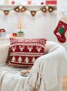 Scandi Christmas Cushion