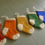 Stocking Ornaments Pattern - Free Knitting