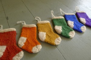 Stocking Ornaments Pattern