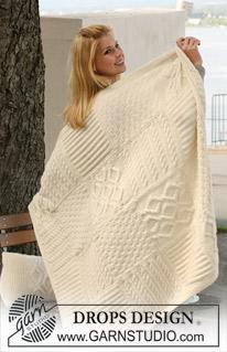 Warm Hug Cabled Blanket Free Knitting Pattern