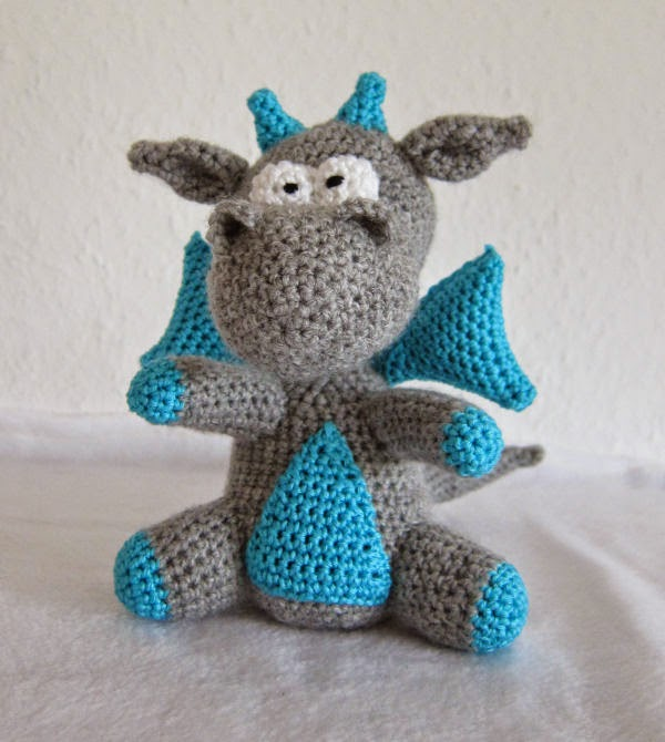 Crochet Patterns Dragon : Free free crochet dragon amigurumi pattern Patterns ? Knitting Bee ...
