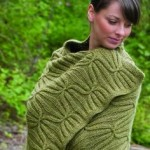 Quilt and Cable Blanket - Free Knitting Pattern