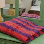 Hug From Home Throw Free Knitting Pattern