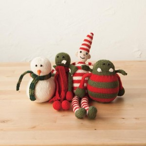 elf snowman and more free knitting patterns