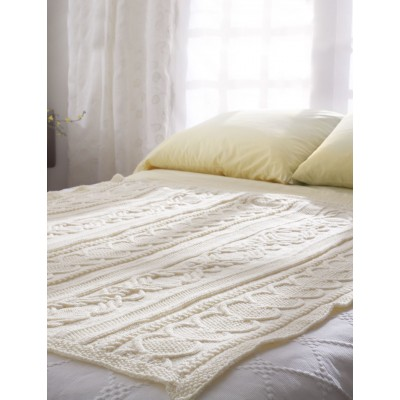 free cable afghan pattern