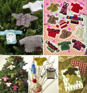 free-knitting-pattern-miniture-sweater-christmas-ornaments