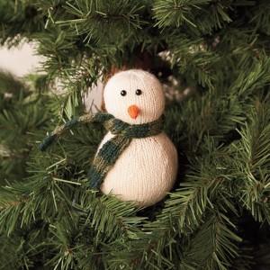free snowman knitting pattern