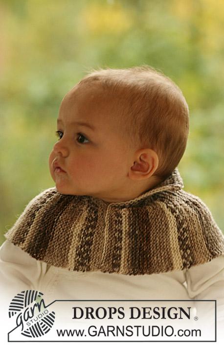 BabyDROPS 18-6 Free Knitting Pattern Neck Warmer