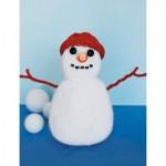 Classic Snowman Free Knitting Pattern