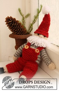 Crocheted Santa Claus