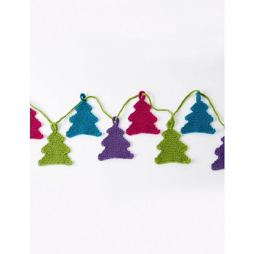 Free Happy Little Tree Garland Pattern