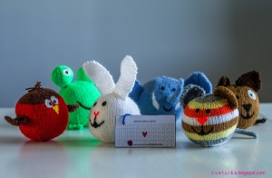 Free Knit for little animal creatures 1
