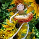 Free knitted fairy pattern
