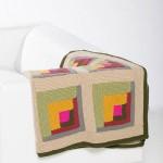 Grandmother's Log Cabin - Free Knitting Pattern