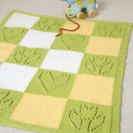 Hearts and Flowers Baby Blanket - Free Knitting Pattern