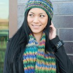 Estelle Woodrow Lace & Cable Hat & Scarf Set