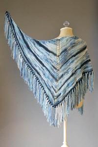 Lightning Strikes shawl