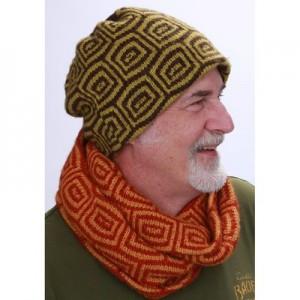 New Item Skacel Jasper Hat and Cowl - Free Knitting Pattern 1