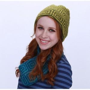 New Item Skacel Jasper Hat and Cowl - Free Knitting Pattern