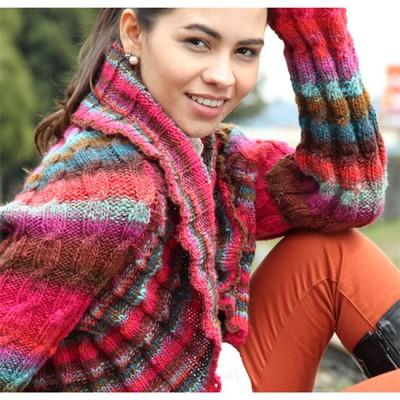 Noro Kureyon Cabled Shrug Free Knitting Pattern