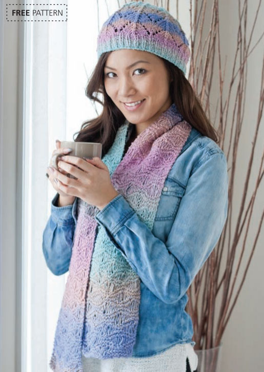 Hat Scarf Knitting Patterns Free : New Knitting Patterns on Knitting Bee