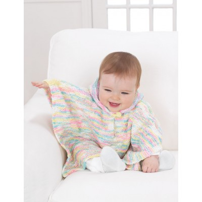 Free free baby poncho knitting patterns Patterns ⋆ Knitting Bee (3 ...