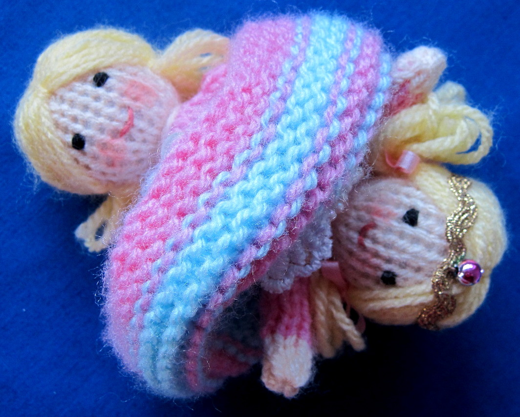 Tiny Topsy the tooth fairy ⋆ Knitting Bee