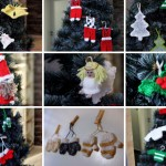 Free Christmas Knitting Pattern Decorations