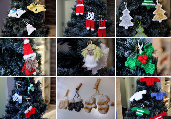 Simple Knitting Patterns Christmas Decorations : Ideas About Free Christmas Decoration Knitting Patterns, - Easy DIY Christmas...