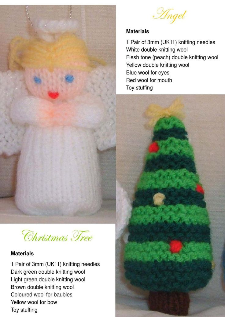 free christmas knitting patterns 1
