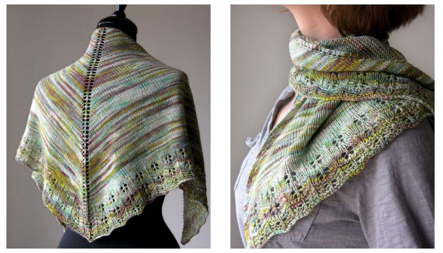 Oaklet Shawl - Free Knitting Pattern
