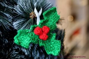 mistletoe knit pattern