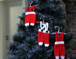 santa pants knit patterns