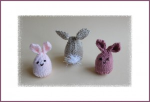 Easter Bunny Egg Cosy Free Knitting Pattern