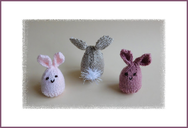 Easter Bunny Egg Cosy Free Knitting Pattern Knitting Bee