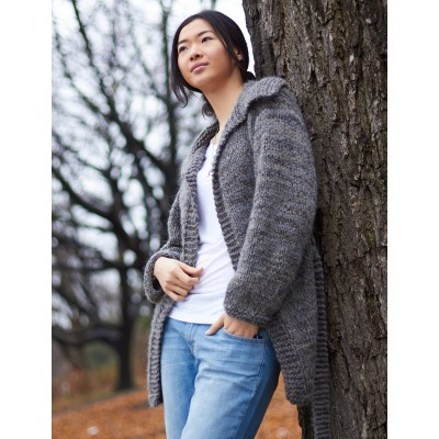 Easy Saturday Cardigan Free Knitting Pattern